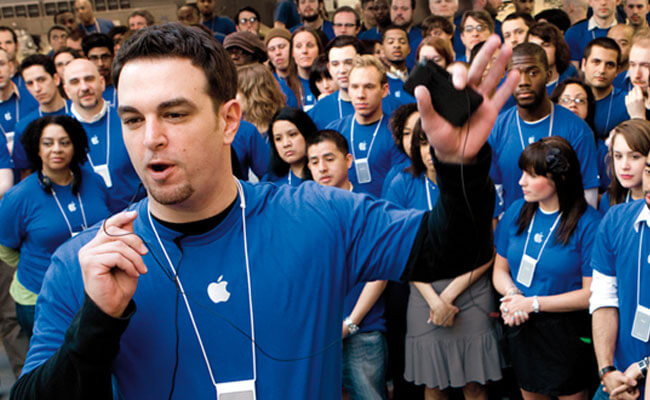 Apple brand employees ambassador